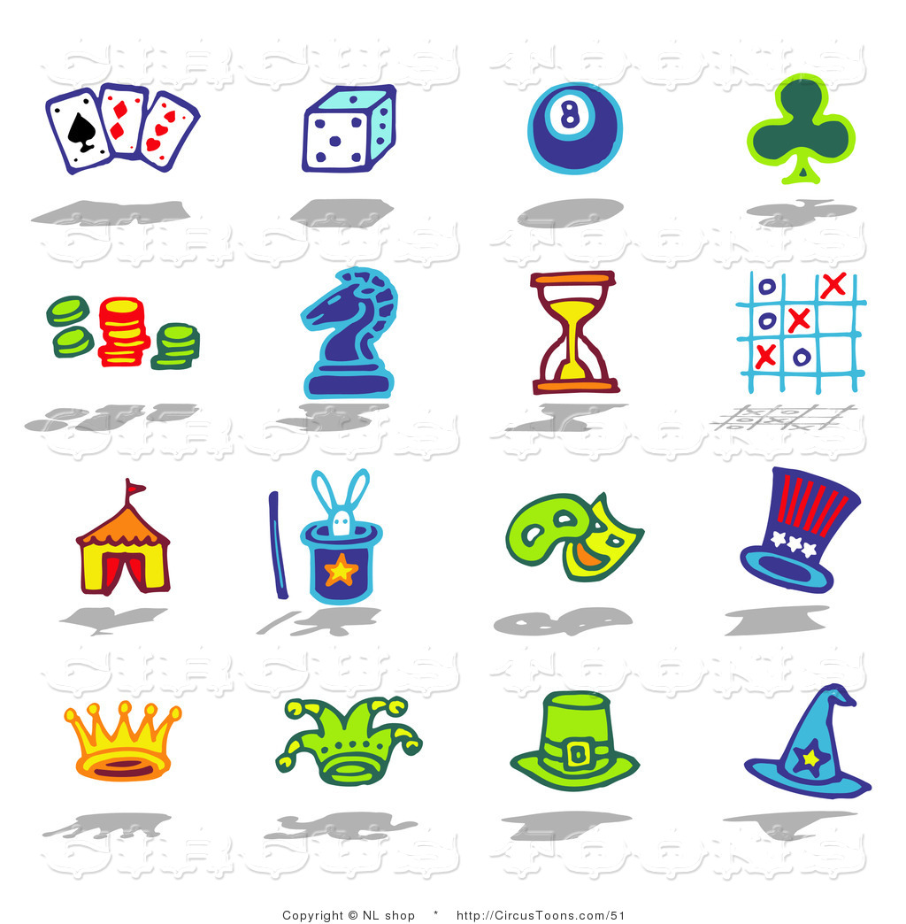 Games Club Clipart.