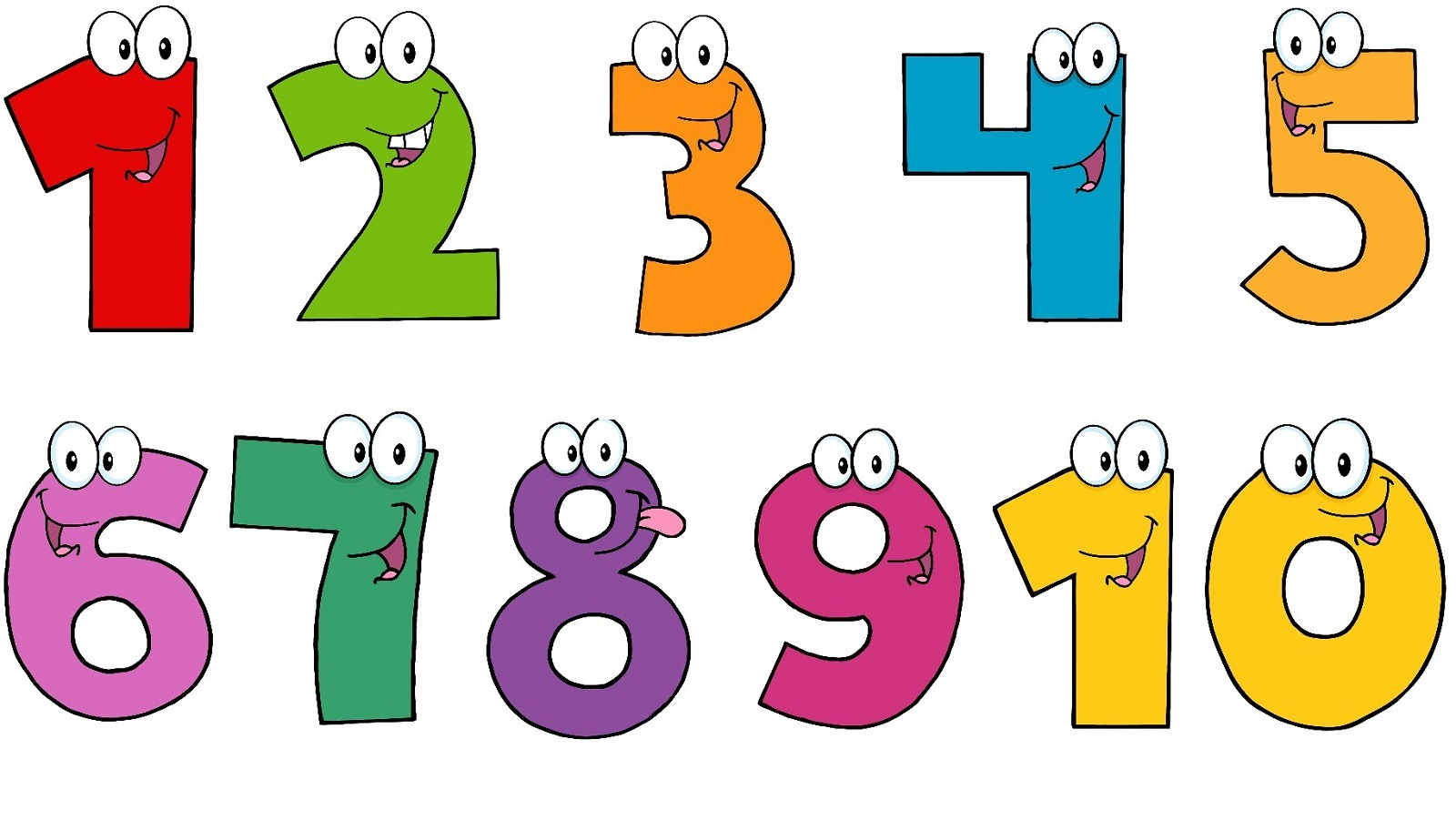 Clipart numbers 1 10 5 » Clipart Station.