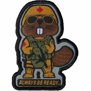Details about 5.11 Tactical Always Be Ready Patch, Tactical Beaver.
