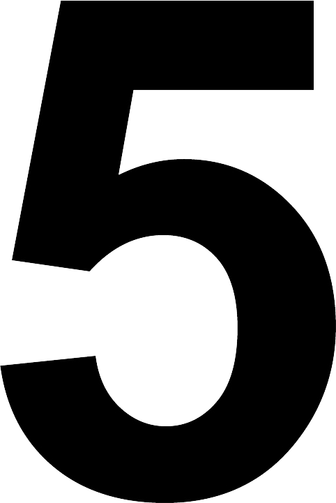 5 clipart number 5, 5 number 5 Transparent FREE for download.