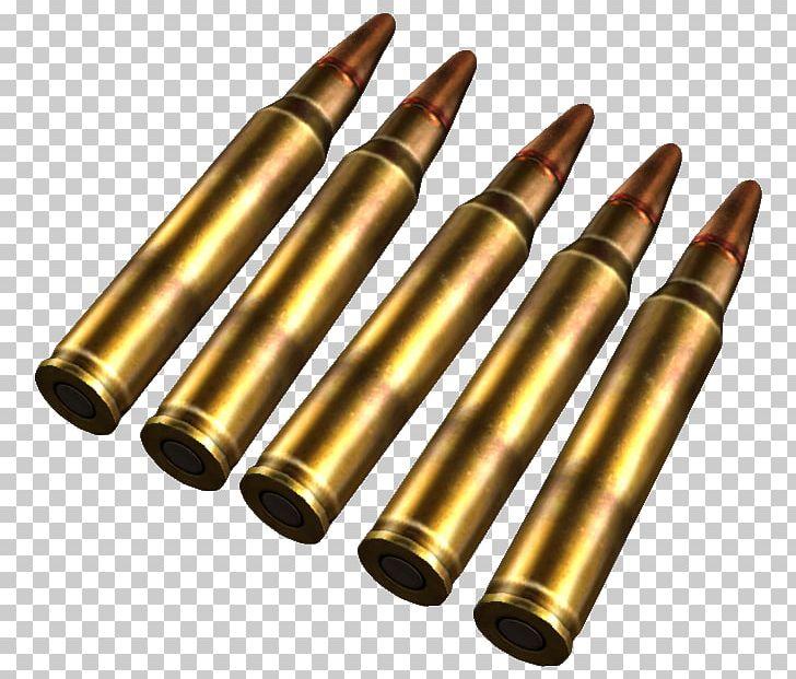 Ammunition Cartridge 5.56×45mm NATO Assault Rifle PNG.