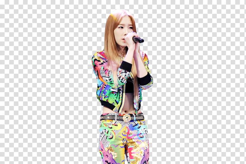 Taeyeon Boom Shakalaka s, transparent background PNG clipart.