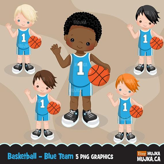Basketball clipart. Sport graphics, basketball player.