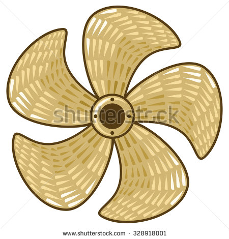 Ship Propeller Stock Images, Royalty.