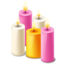 Clipart candle five, Clipart candle five Transparent FREE.