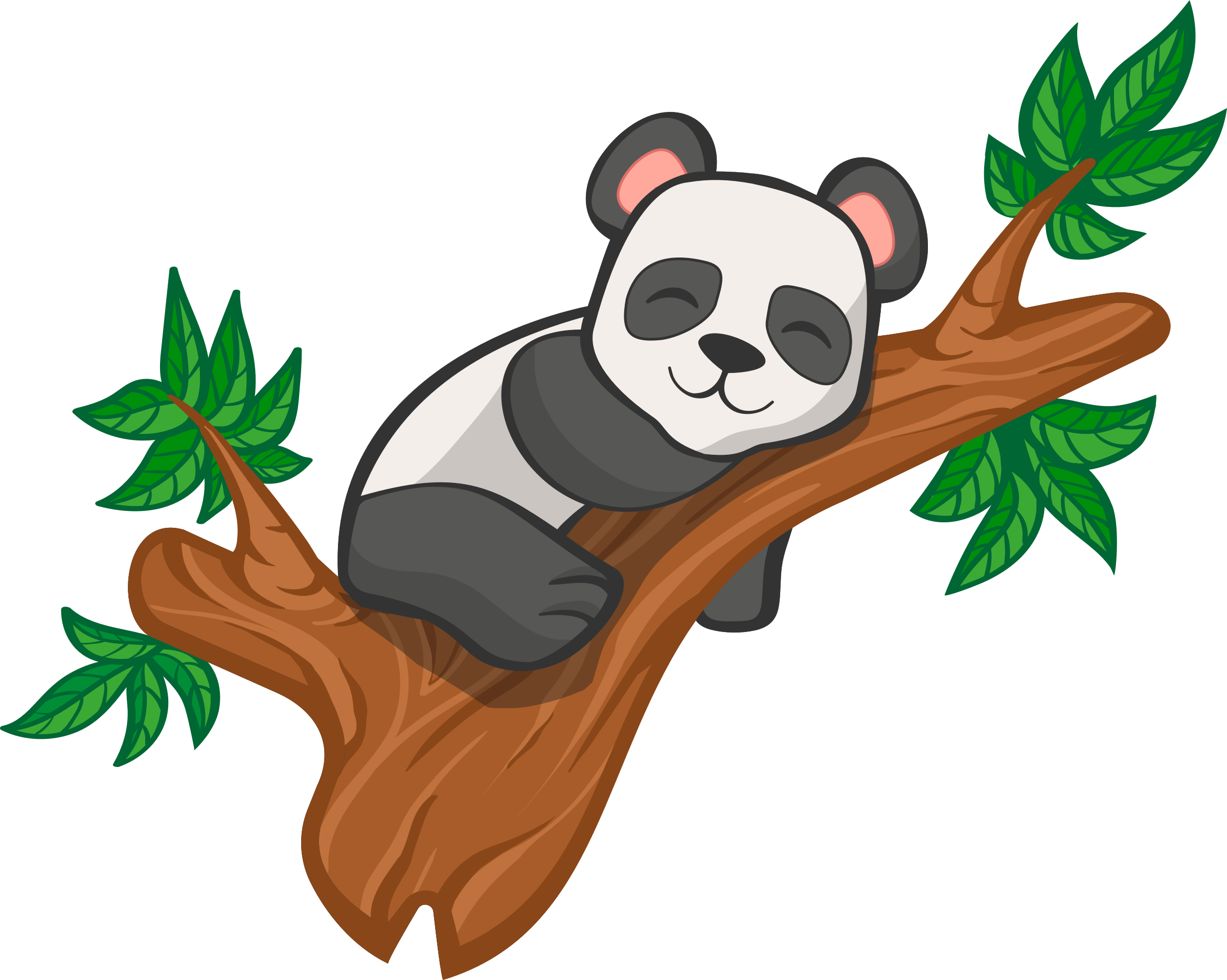 Clipart panda tree, Clipart panda tree Transparent FREE for.