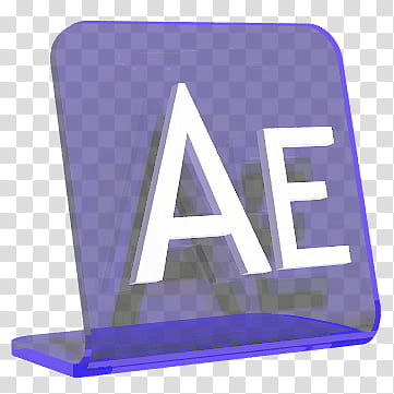 Adobe PlexiIcons CS , AfterEffects Tag transparent.
