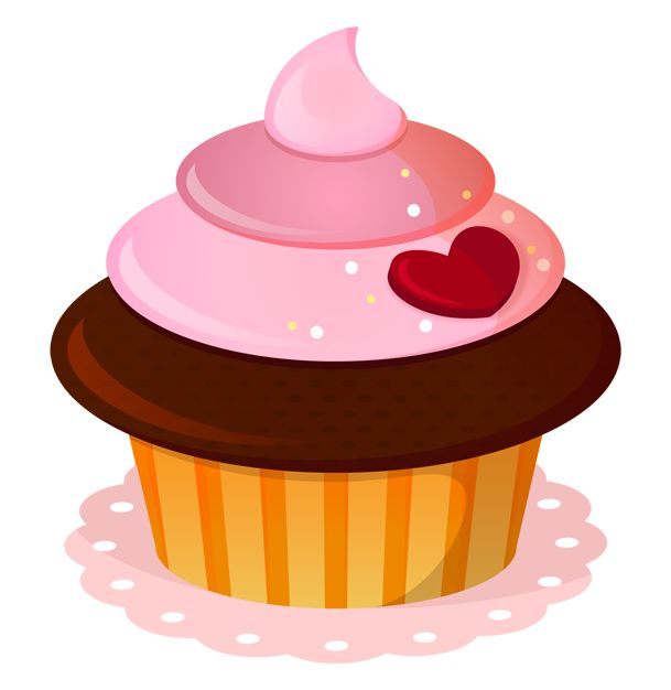 341 best Cupcake Clipart images on Pinterest Art cupcakes.