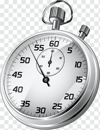 Round white stop watch, Stopwatch Icon, Stopwatch free png.