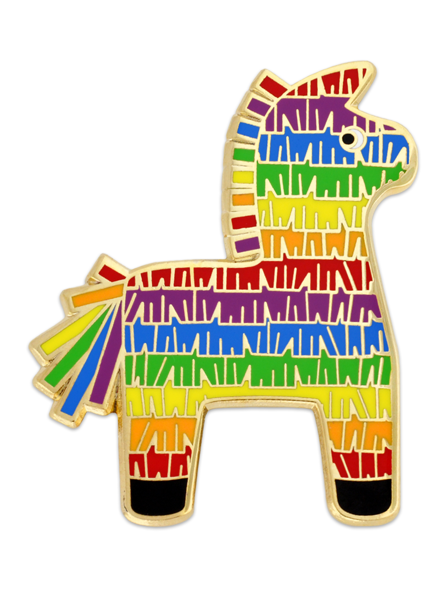 Details about PinMart\'s Spanish Fiesta Donkey Pinata Cinco De Mayo Party  Cute Enamel Lapel Pin.