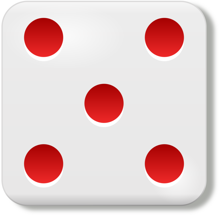Dice,Red,Circle PNG Clipart.