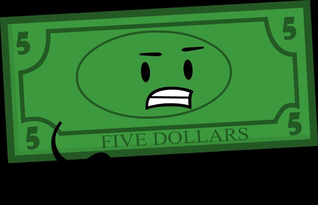 Dollar clipart 5 dollar, Dollar 5 dollar Transparent FREE.