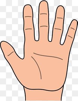 5 fingers clipart 4 » Clipart Portal.