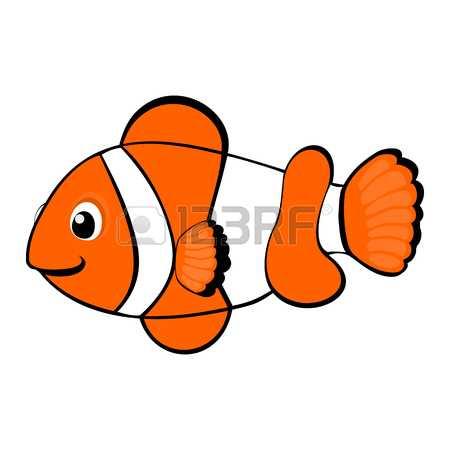 Clown fish clipart 5 » Clipart Station.
