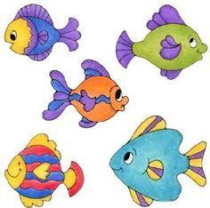 5 fish clipart 3 » Clipart Portal.