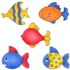 5 fish clipart » Clipart Portal.