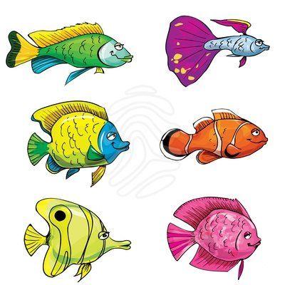 Cartoon Fish Clipart.
