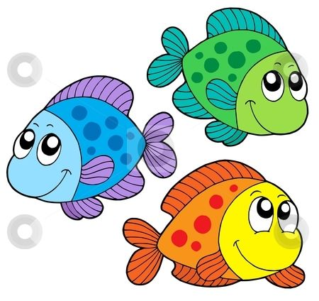 Clipart School Of Fish.