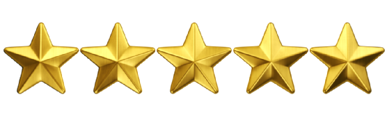 5 Gold Star Png 1 Vector, Clipart, PSD.