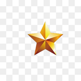 5 Star PNG Images.