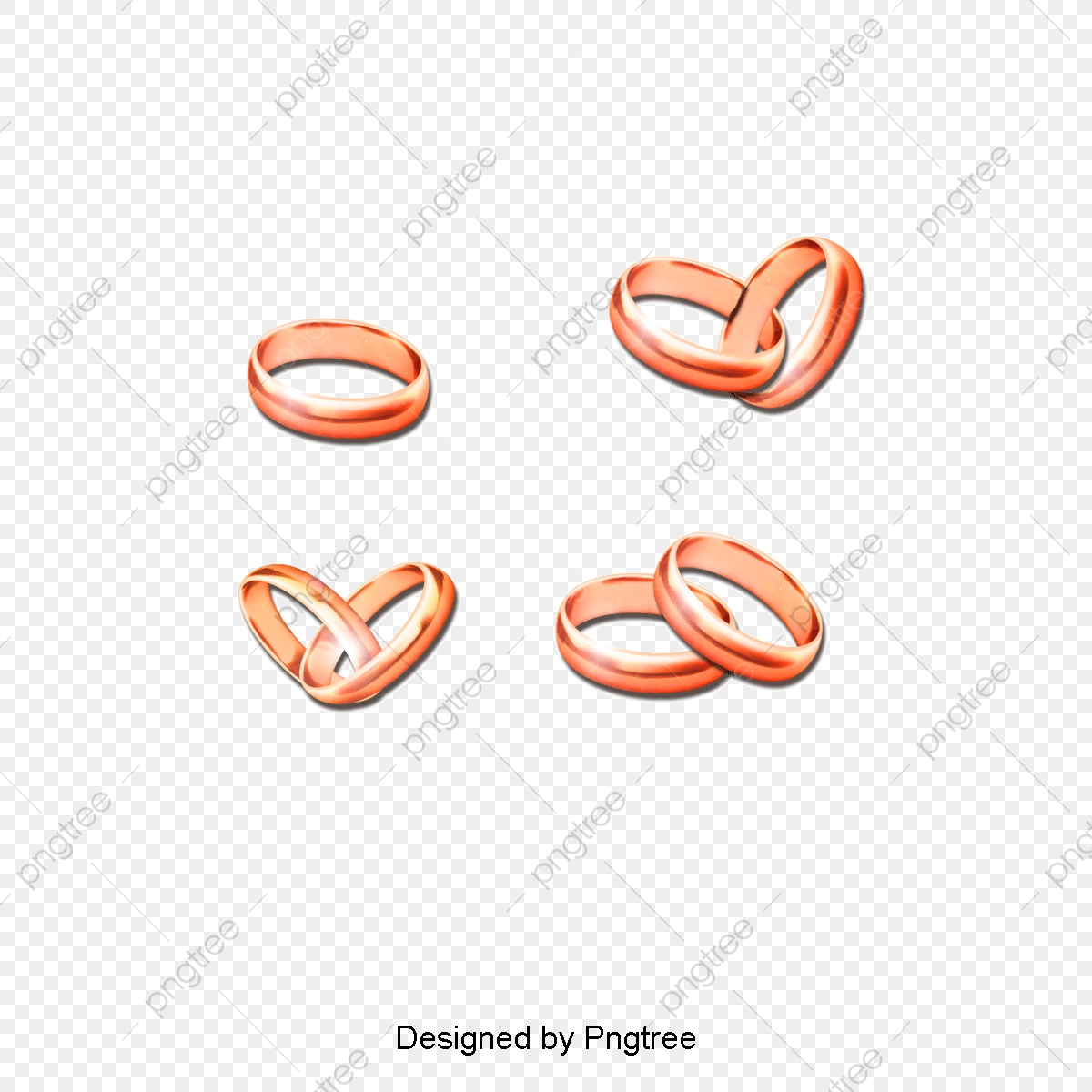 5 Gold Ring Design Vector, Golden Ring, Ring, On The Ring PNG.