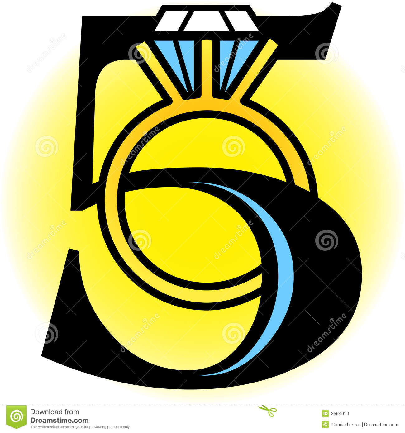 Five Golden Rings/eps stock vector. Illustration of fifth.