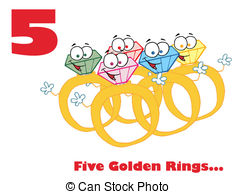 Five golden rings Clip Art and Stock Illustrations. 1,499 Five.