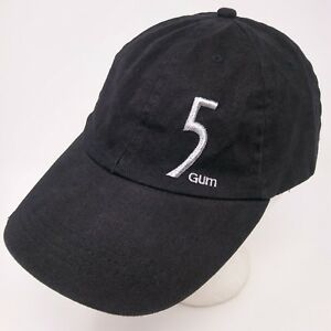 Details about Wrigley 5 Gum distressed strapback low profile promo  embroidered logo hat cap.