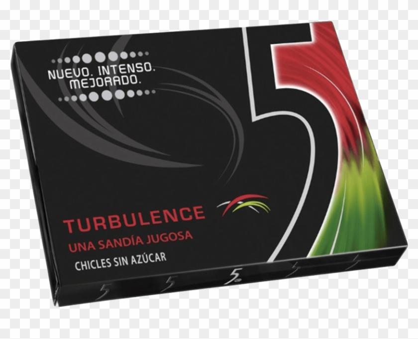 5 Turbulence Sugar Free Gum, Watermelon Flavor 29 G.