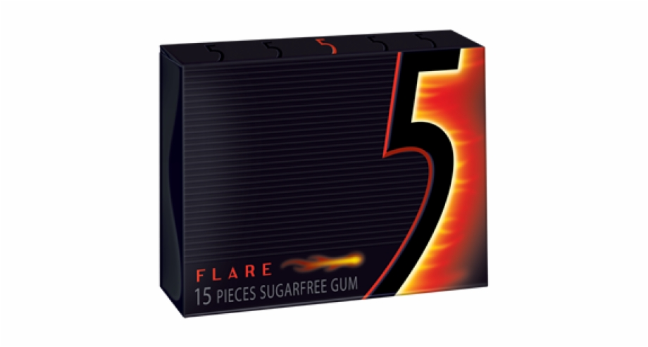 Wrigleys 5 Gum Flare 15pc 10ct.