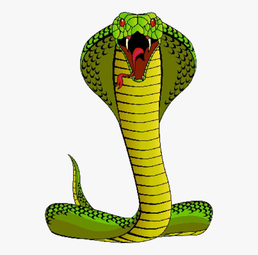 Snake Clipart Spitting Cobra.