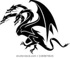 Image result for 3 headed dragon tattoo in 2019.