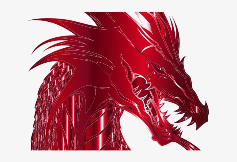Mythical Clipart Dragon Head.