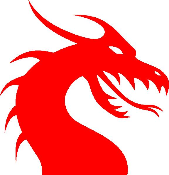 Clipart dragon red dragon, Clipart dragon red dragon.