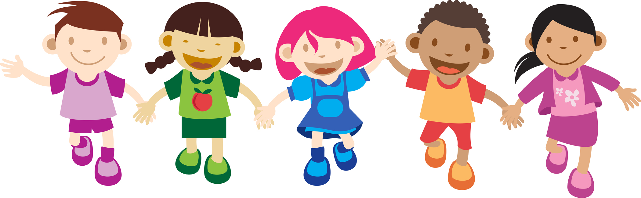 Cartoon Images Of Children Learning Background 1 Hd.