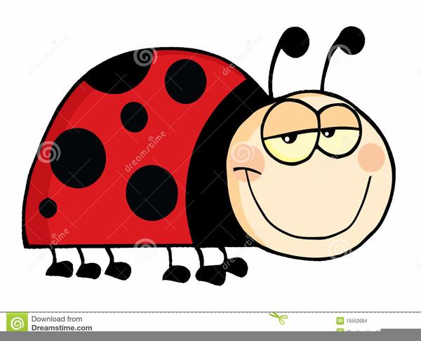 Cute Ladybugs Clipart.