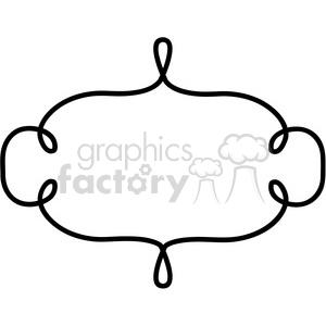 lines frame swirls boutique sign design border 5 clipart. Royalty.