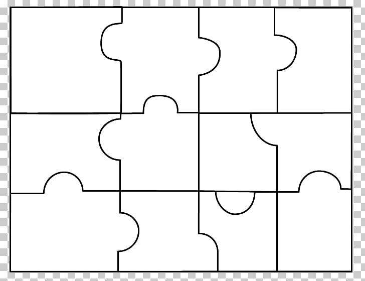 White Line art Black Pattern, 5 Puzzle s PNG clipart.