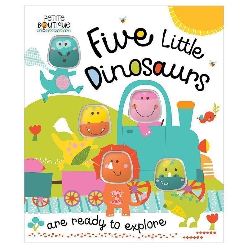 Petite Boutique: Five Little Dinosaurs.