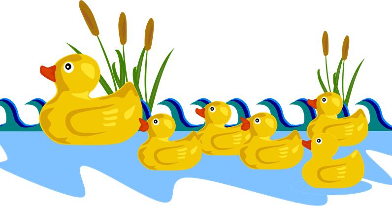 Ducks clipart five, Ducks five Transparent FREE for download.