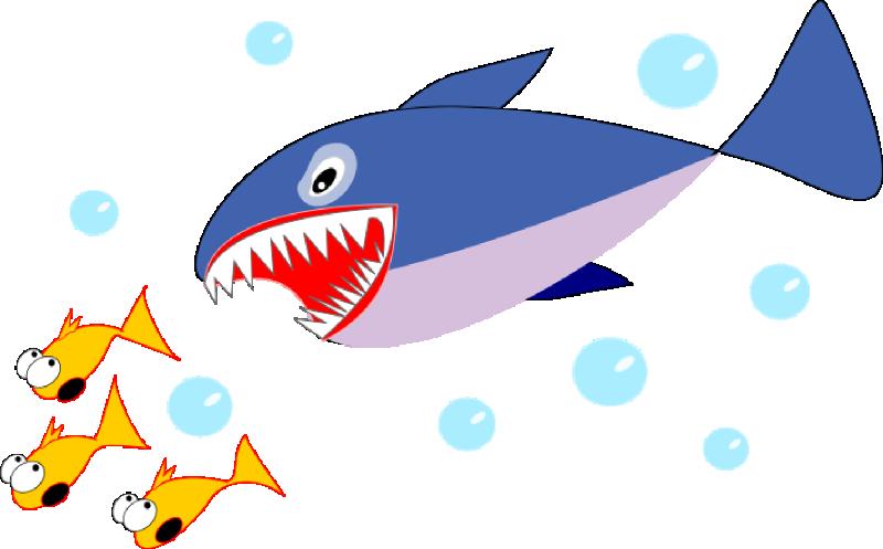 Clipart Of Shark Fish.
