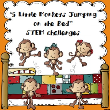 Five Little Monkeys Jumping On The Bed Printable & Worksheets.