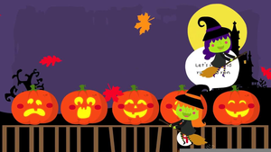 Five Little Pumpkins Clipart.