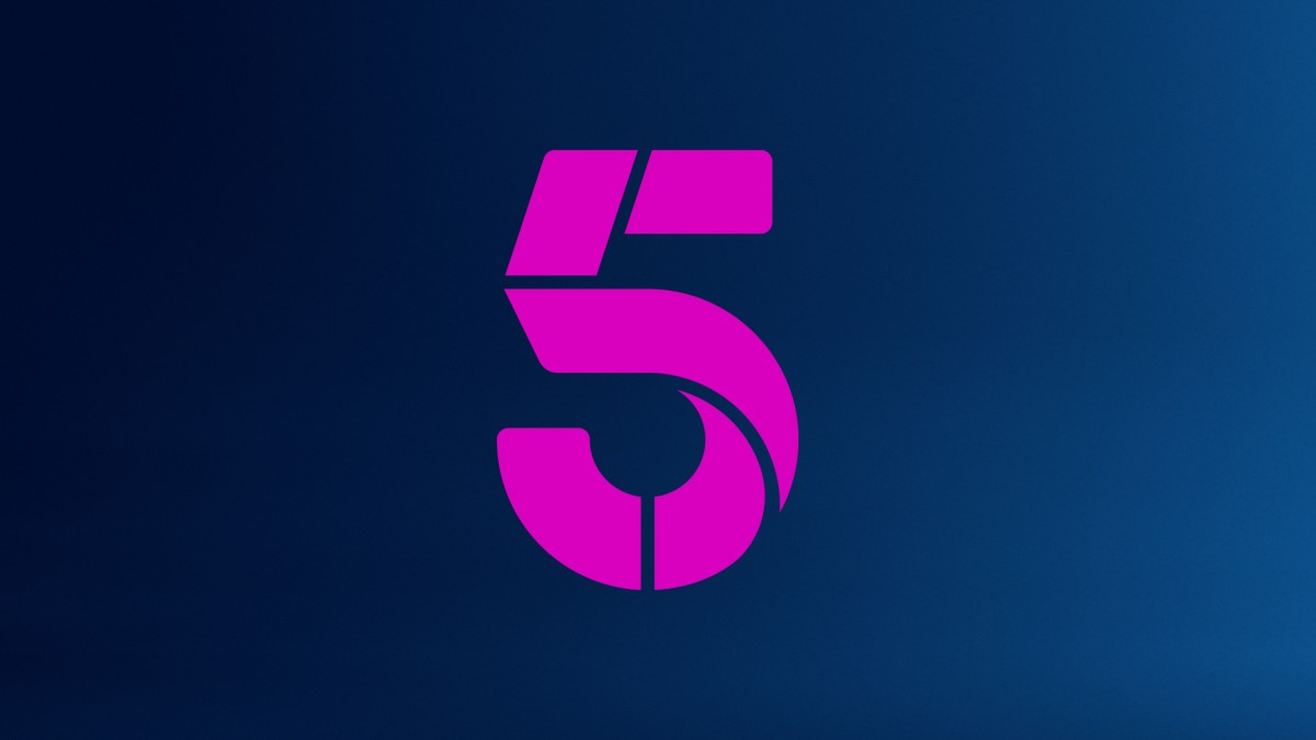 New Channel 5 logo and rebrand.
