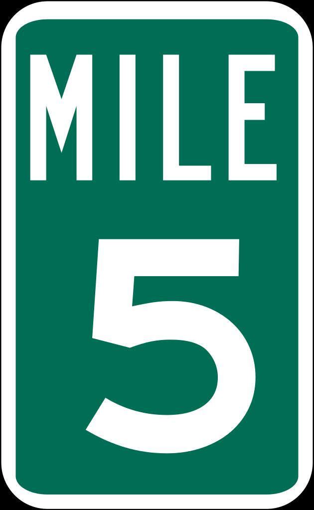 File:Mile Marker 5.svg.