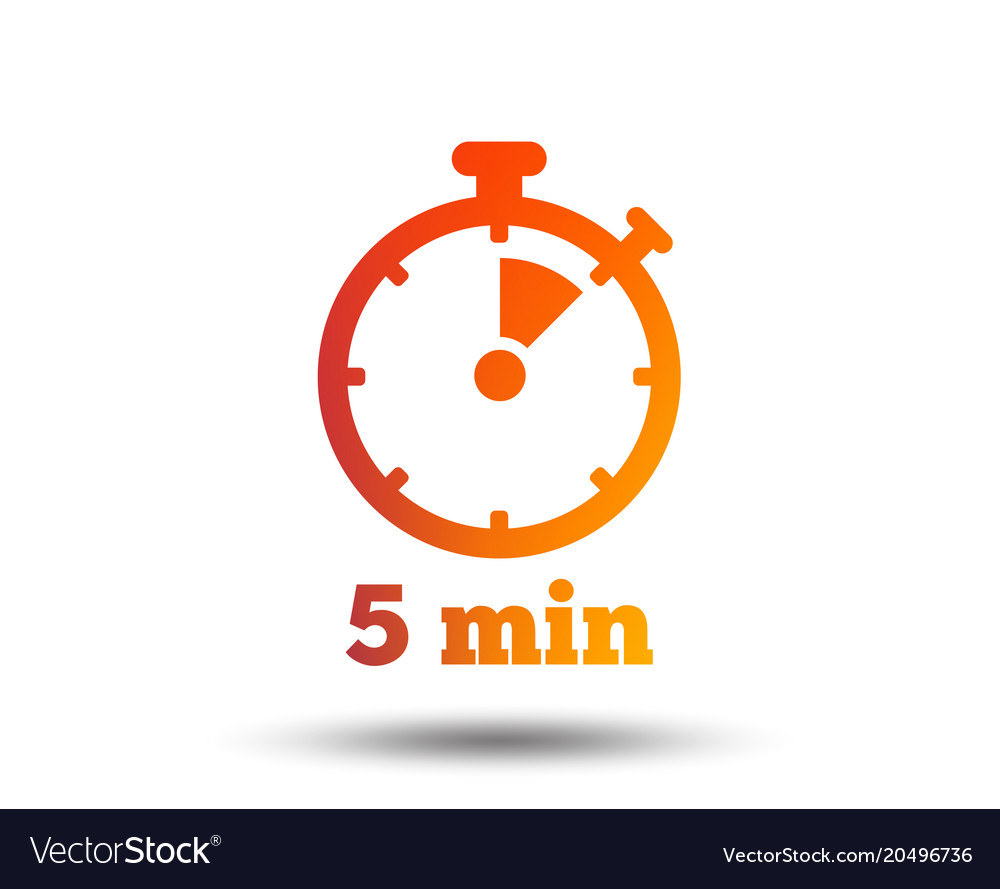5 minute tiemr.