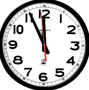 Doomsday Clock Moves 1 minute closer to midnight.