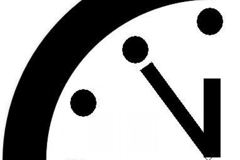 Doomsday Clock Set To 5 Minutes To Midnight, Risk Of Global.