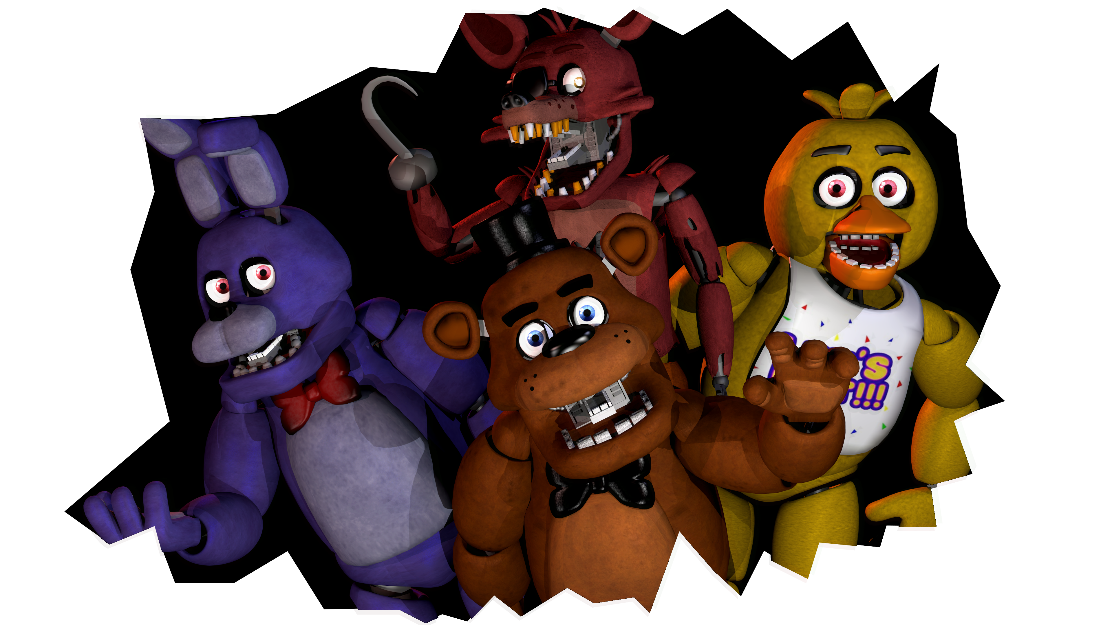 Five Nights At Freddy\'s Clipart.