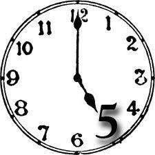 5 O\'clock Shadow: February 1.